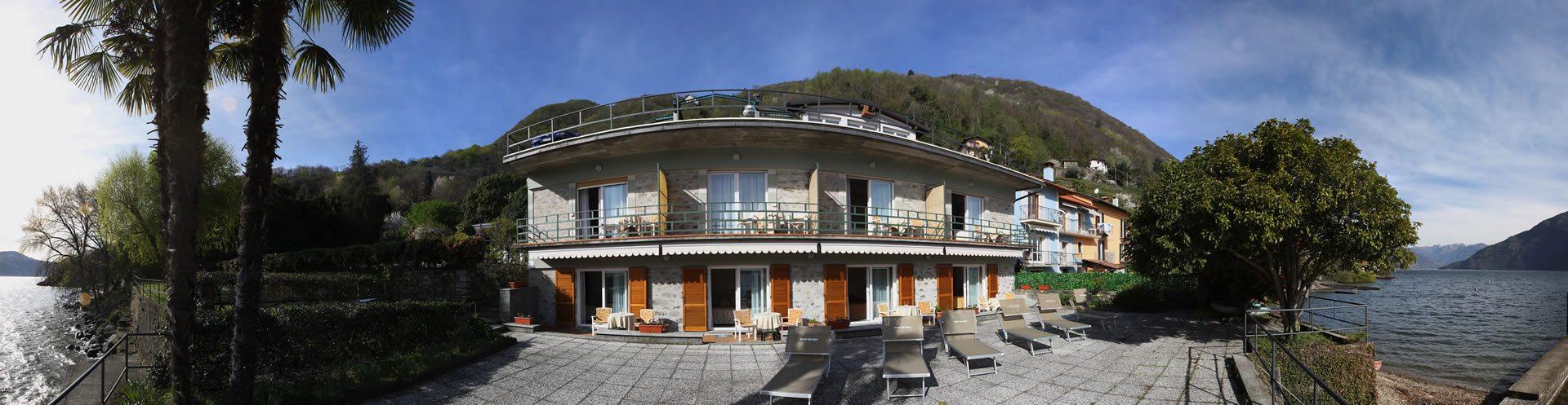 Del Lago: Hotel am See Maggiore in Cannobio Verbania.